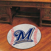 Milwaukee Brewers Baseball Mat