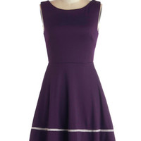 Fun-day Best Dress in Purple | Mod Retro Vintage Dresses | ModCloth.com