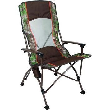 Ozark Trail x Realtree Xtra pro Guide Folding Quad Camp Chair - Walmart.com