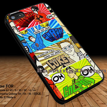 5 Seconds Of Summer Comic DOP1159 iPhone 6s 6 6s+ 5c 5s Cases Samsung Galaxy s5 s6 Edge+ NOTE 5 4 3 #music #5sos