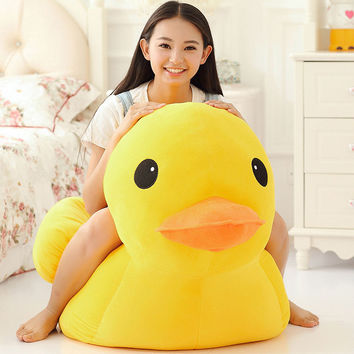 Children Toy Small yellow duck rhubarb children 's day [9166320970]