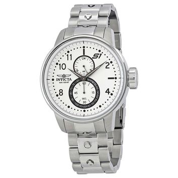 Invicta S1 Rally Silver Dial Mens Watch 23059