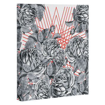 Zoe Wodarz Formal Floral Art Canvas