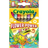 Crayola 8ct Pick your Pack Flower Power Crayons