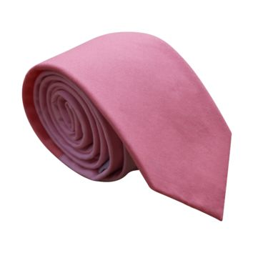 Two-tone Pinked Skinny Neck Tie for Men
