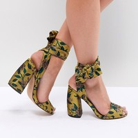 ASOS HARVEST Heeled Sandals at asos.com