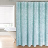 Regal Home Harper Fabric Shower Curtain