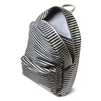 stone + cloth Nautical Stripe Lucas Backpack