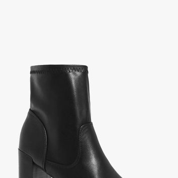 Felicity Block Heel Sock Boot