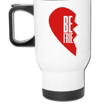 best friends heart Coffee and Tea Mug - Travel Mug
