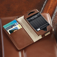 Italian Leather RFID-blocking iPhone Wallet
