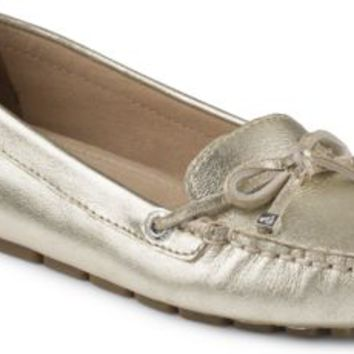 Sperry Top-Sider Katharine Pastel 1-Eye Driver Platinum, Size 9.5M  Women's Shoes