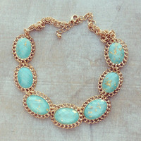 Pree Brulee - Blue Earth Necklace