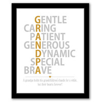 INSTANT DOWNLOAD, Father's Day Gift, Grandpa Gift, Birthday Gift For Grandpa, Grandpa To Be Gift, Gifts For Grandpa, Grandfather Gift, Gold