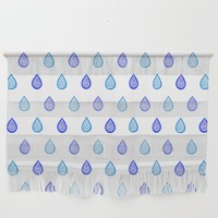 Blue raindrops by Savousepate