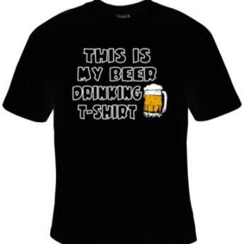 This Is My Beer Drinking T-Shirt - T-Shirt Men's