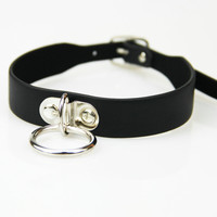 Leather Collar BDSM Sexy Leash ring chain slave Bondage Toys For cosplay Erotic Posture Collar Juguetes Eroticos lover role play