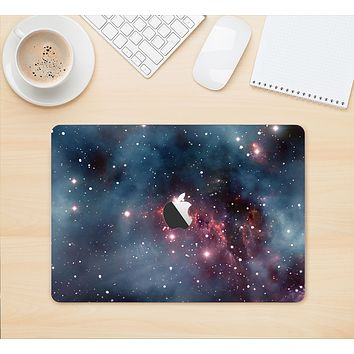 "The Bright Pink Nebula Space Skin Kit for the 12"" Apple MacBook"