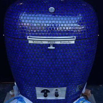 Komodo Kamado Big Bad 32 Cobalt Blue Outdoor Grill | World's Best