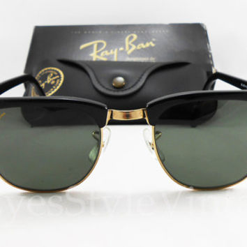 ray ban clubmaster 1980s sunglasses