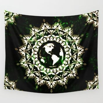 Earth Spirit Wall Tapestry by Inspired Images