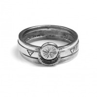 Sun Moon and Elements Rings Set | NOT JUST A LABEL