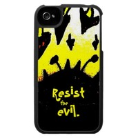 Resist the Evil iPhone 4/4S Case