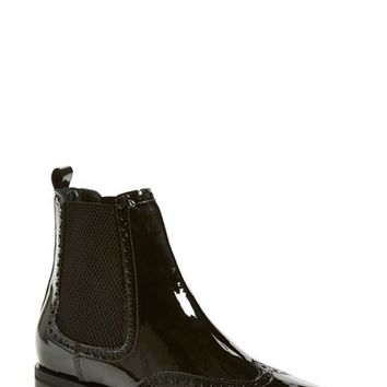 Women's Aquatalia by Marvin K. 'Idalah' Weatherproof Wingtip Chelsea Boot,