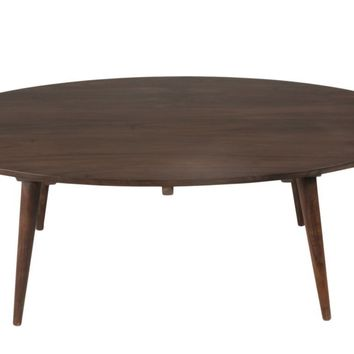 Pablo Oval Coffee Table Solid Sheesham Wood