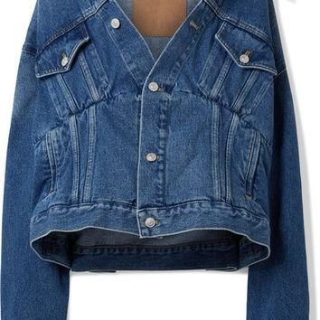 Balenciaga - Oversized denim jacket