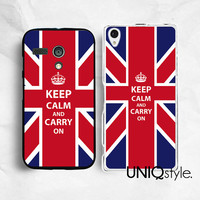 Keep Calm series - England - Sony Motorola phone case for Sony Xperia Z Xperia Z1, Moto G Moto X, keep calm and carry on plastic back cover