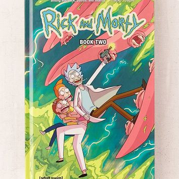 Rick and Morty Compilation Book 2 By Tom Fowler, Kyle Starks & Pamela Ribon | Urban Outfitters