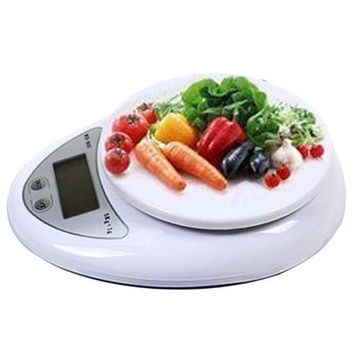 CREYONV high quality useful new 5kg 5000g 1g digital kitchen food diet postal scale balance scales p eho free shipping