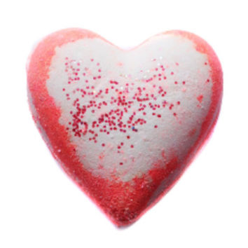 Valentines Day Misbehavin' Heart Bath Bomb