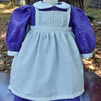 "Pinafore Apron for American Girl Dolls, 18"" Dolls Clothing"