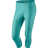 Nike Women's Printed Tight Legend Poly Training Capris