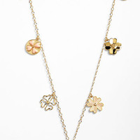Tory Burch 'Shawn' Long Station Necklace | Nordstrom