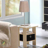 Nightstand Bedroom Petite End Table Night Stand Furniture