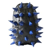 Fashionwu Personalized Unisex Hedgehog Spike Punk Backpack (Blue)