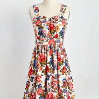 Belles in Your Courtyard Dress | Mod Retro Vintage Dresses | ModCloth.com