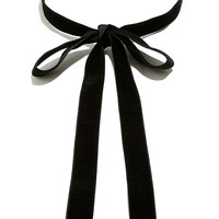 Special Gift Black Velvet Wrap Necklace