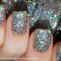 Ice Queen Nail Polish  Holographic Glitter Nail Color by KBShimmer