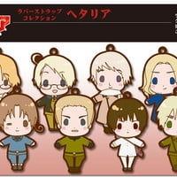 Japan anime Hetalia Axis Powers figure Rubber strap Vol.1