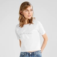 Ck Calvin Klein Woman Men Fashion Shirt Top Tee
