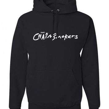 "The Chainsmokers ""The Chainsmokers Logo"" Unisex Adult Hoodie Sweatshirt"