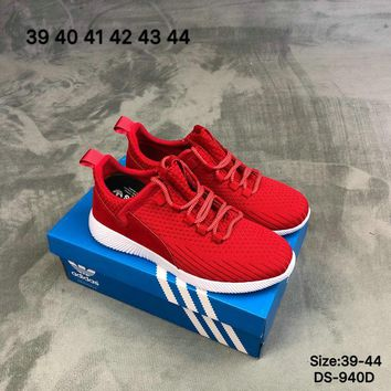 Adidas YEEZY RUNNER PK Men and Women Red Fashion Sports Running Shoes