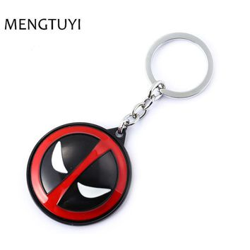Deadpool Dead pool Taco J store New Rotatable  Keychain Anime Jewelry  2 Alloy Key chain For Fans Super Hero llaveros AT_70_6
