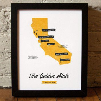 These Are Things / California State Map