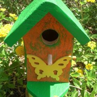 Birdhouse Small by ABCbirdhouses on Zibbet