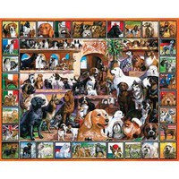 "Loveable Pets Collection Jigsaw Puzzle 1000 Pieces 24""X30""-The World Of Dogs - Walmart.com"